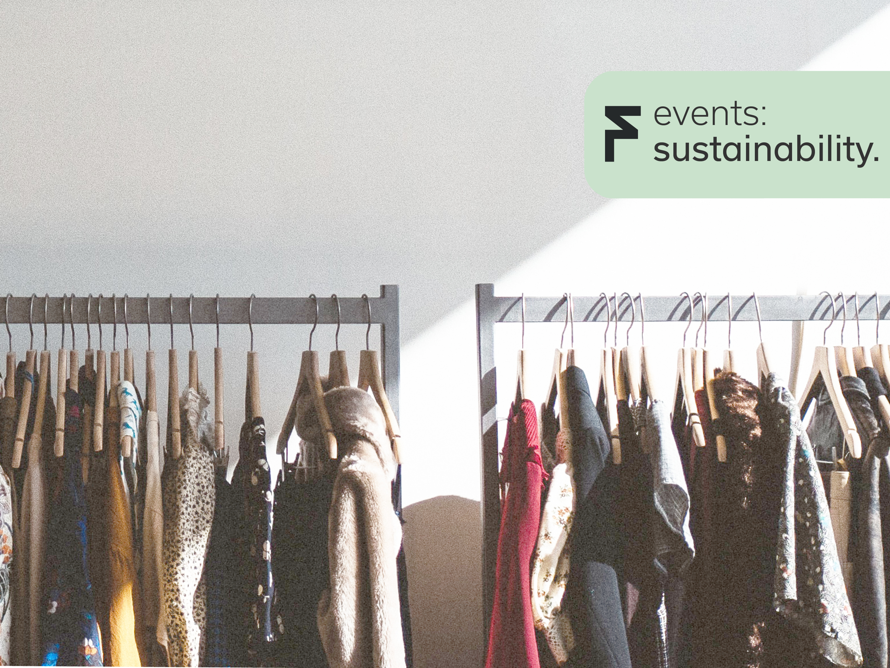 Sustainable Fashion - Signing up as Sustainable pop-up store