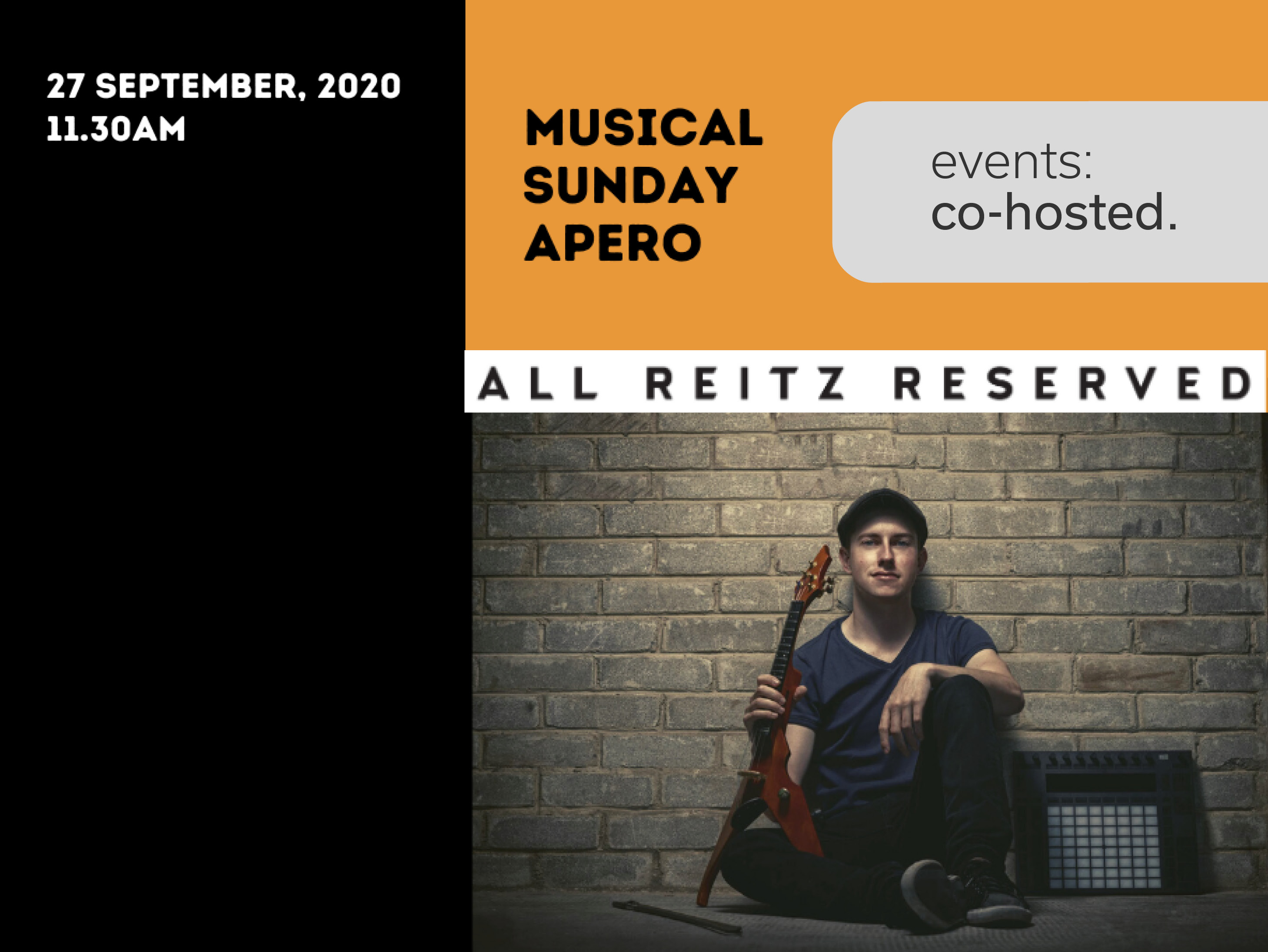 Musical Sunday Apero with All Reitz Reserved.