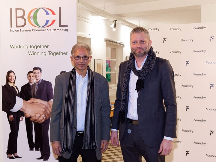announce the association with the Indian Business Chamber of Luxembourg