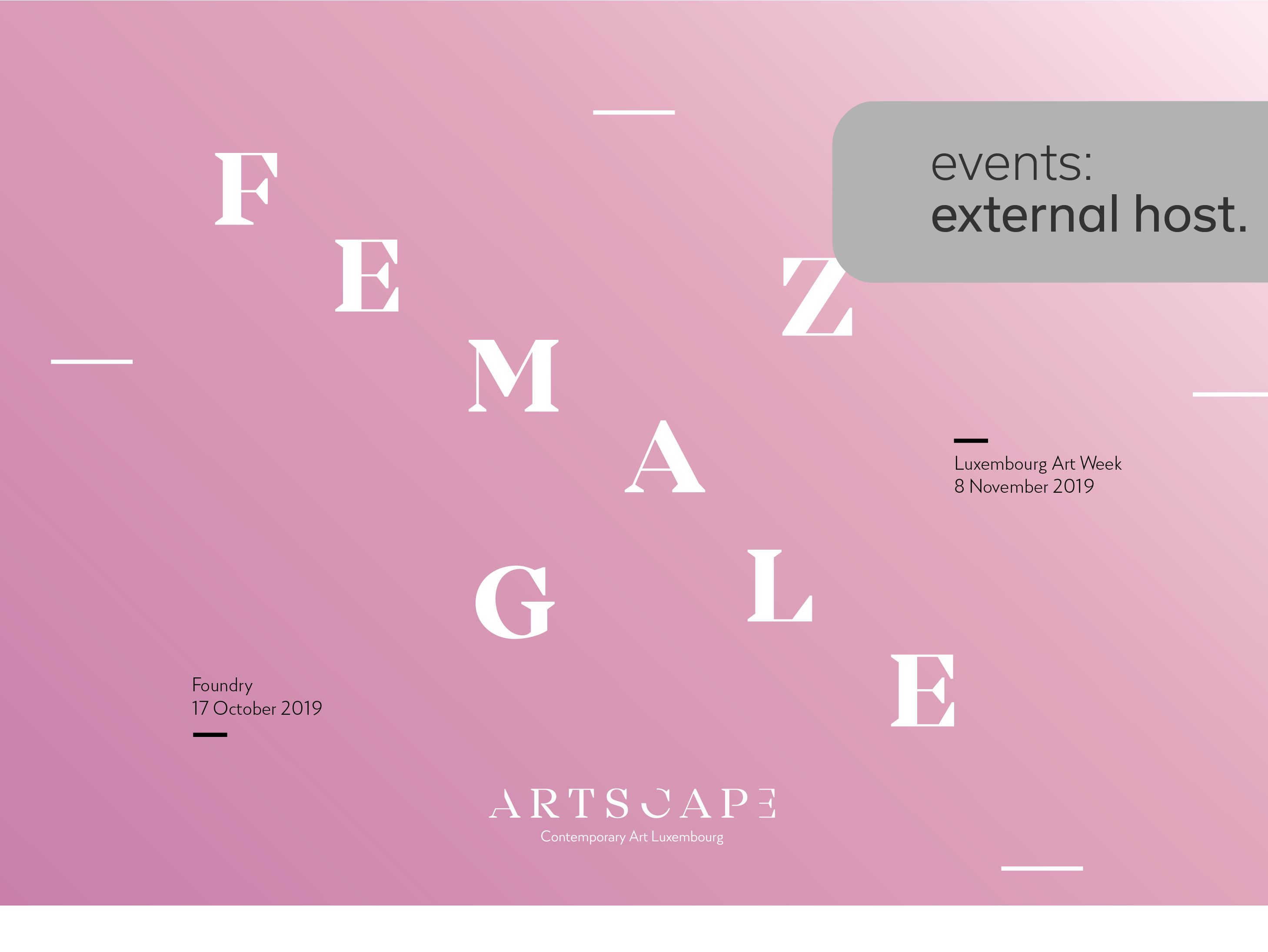 Grand opening of Female Gaze